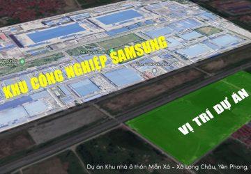 Bán đất nền cạnh khu công nghiệp Samsung Yên Phong