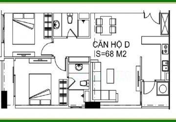 Bán Căn Hộ 2 Ngủ 68m2 Nhà Ở Xã Hội N01 Hạ Đình