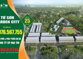Chính sách bán hàng Từ Sơn Garden City tháng 4-2021