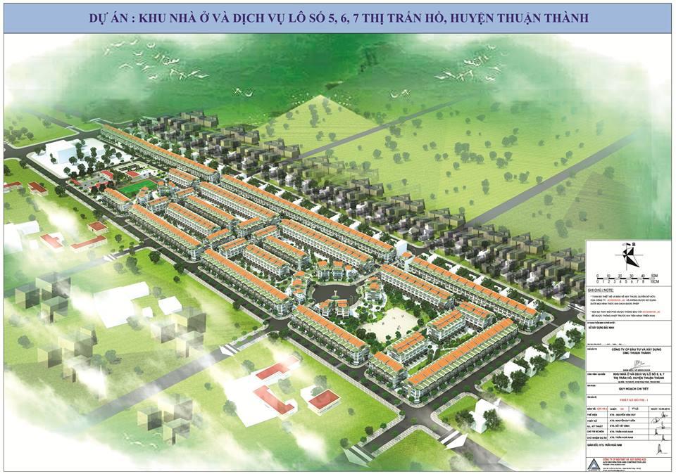 Khu đô thị DMC Thuận Thành, Thuận Thành, Bắc Ninh