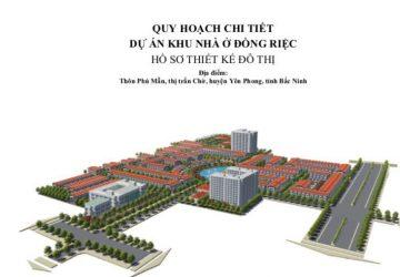 Khu đô thị Đồng Riệc, Thị trấn Chờ, Yên Phong, Bắc Ninh