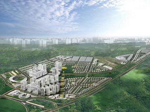 Khu đô thị Phúc Ninh, Đường Quốc lộ 1A, Bắc Ninh, Bắc Ninh