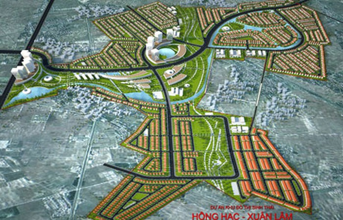 Khu đô thịsinh thái Hồng Hạc -Xuân Lâm