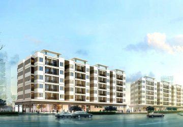 Nhà ở xã hội CT-08 tại dự án khu đô thị mới Thanh Lâm – Đại Thịnh 2