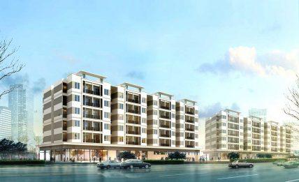 Nhà ở xã hội CT-08 tại dự án khu đô thị mới Thanh Lâm - Đại Thịnh 2