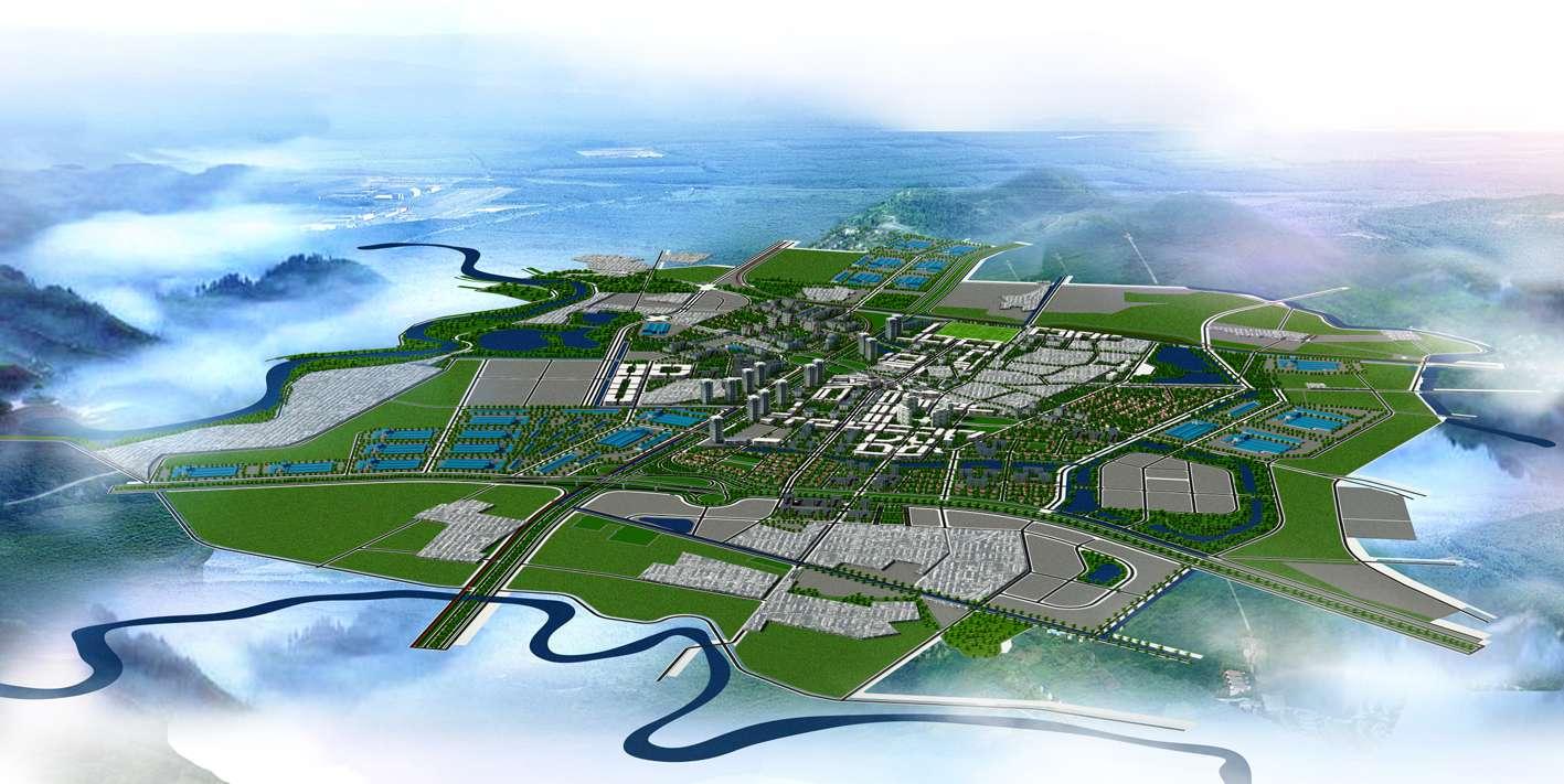 Bản đồ quy hoạch thị trấn Chờ