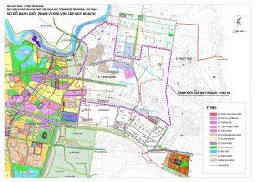Đồ án Quy hoạch phân khu tỷ lệ 1/2000 Khu phía Đông Bắc thị trấn Chờ