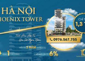 """Ha Noi Phoenix Tower: giải tỏa """"cơn khát"""" căn hộ khách sạn hạng sang tại TP Cao Bằng"""
