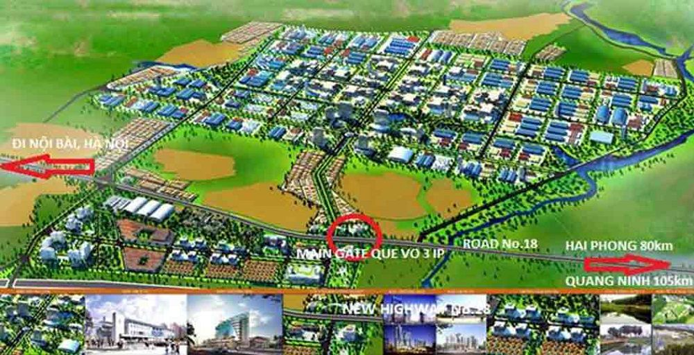 Dự án Khu công nghiệp - đô thị Quế Võ III