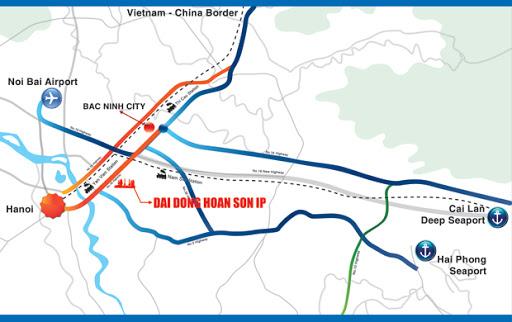 KCN Đại Đồng - Hoàn Sơn, Tỉnh Bắc Ninh