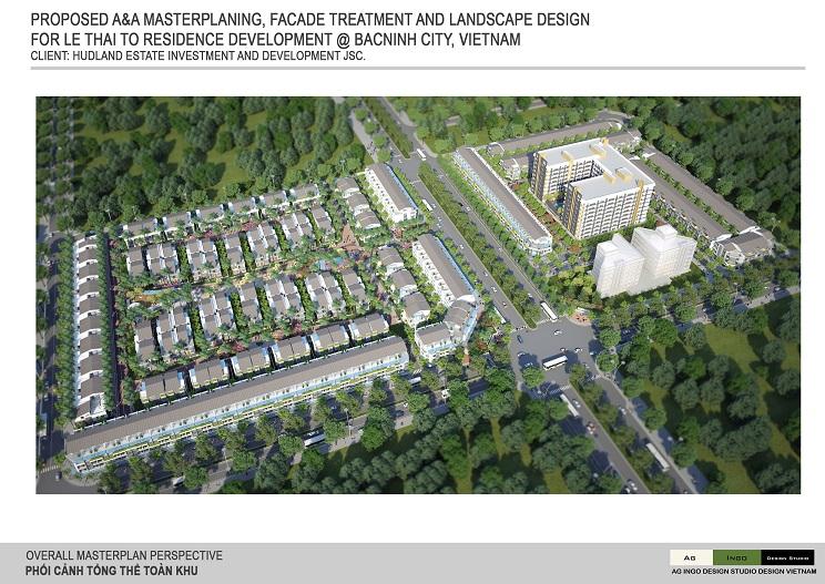 Trầu Cau Garden Nằm trong dự án KĐTM đường Lê Thái Tổ