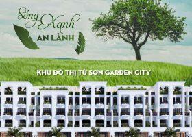 Từ Sơn Garden City: biệt thự, shophouse vị trí đẹp trung tâm thị xã Từ Sơn, giá từ 25tr/m2