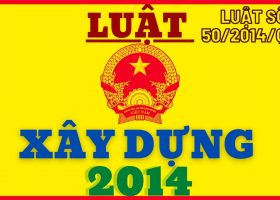 Luật Xây dựng 2014