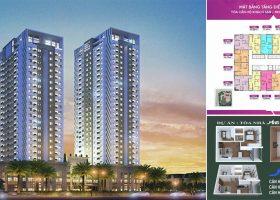 Chung cư MHD Trung Văn gồm 2 tòa tháp đôi cao 22-24 tầng