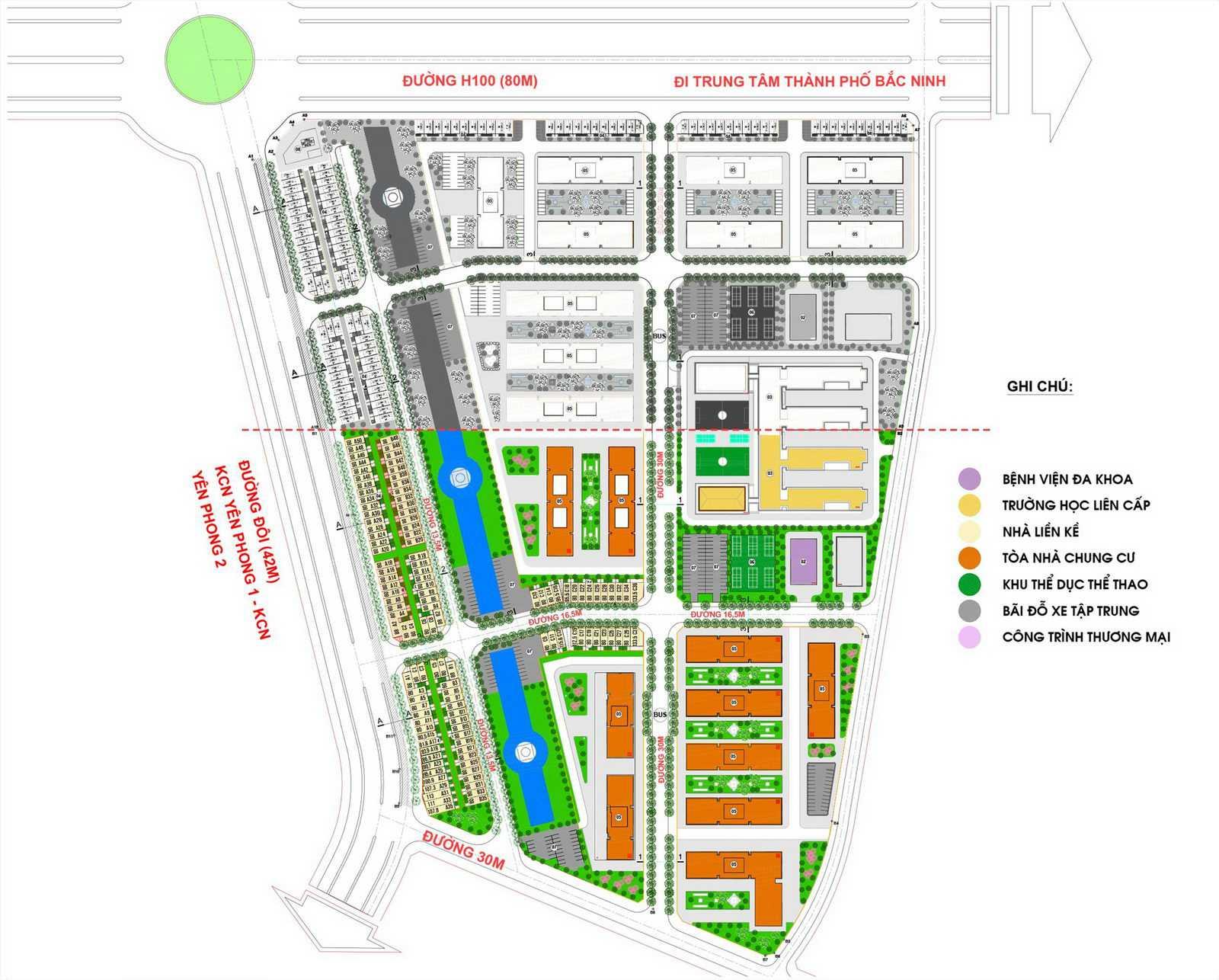 Dự án KĐT Cát Tường Smartcity Yên Phong - Bắc Ninh