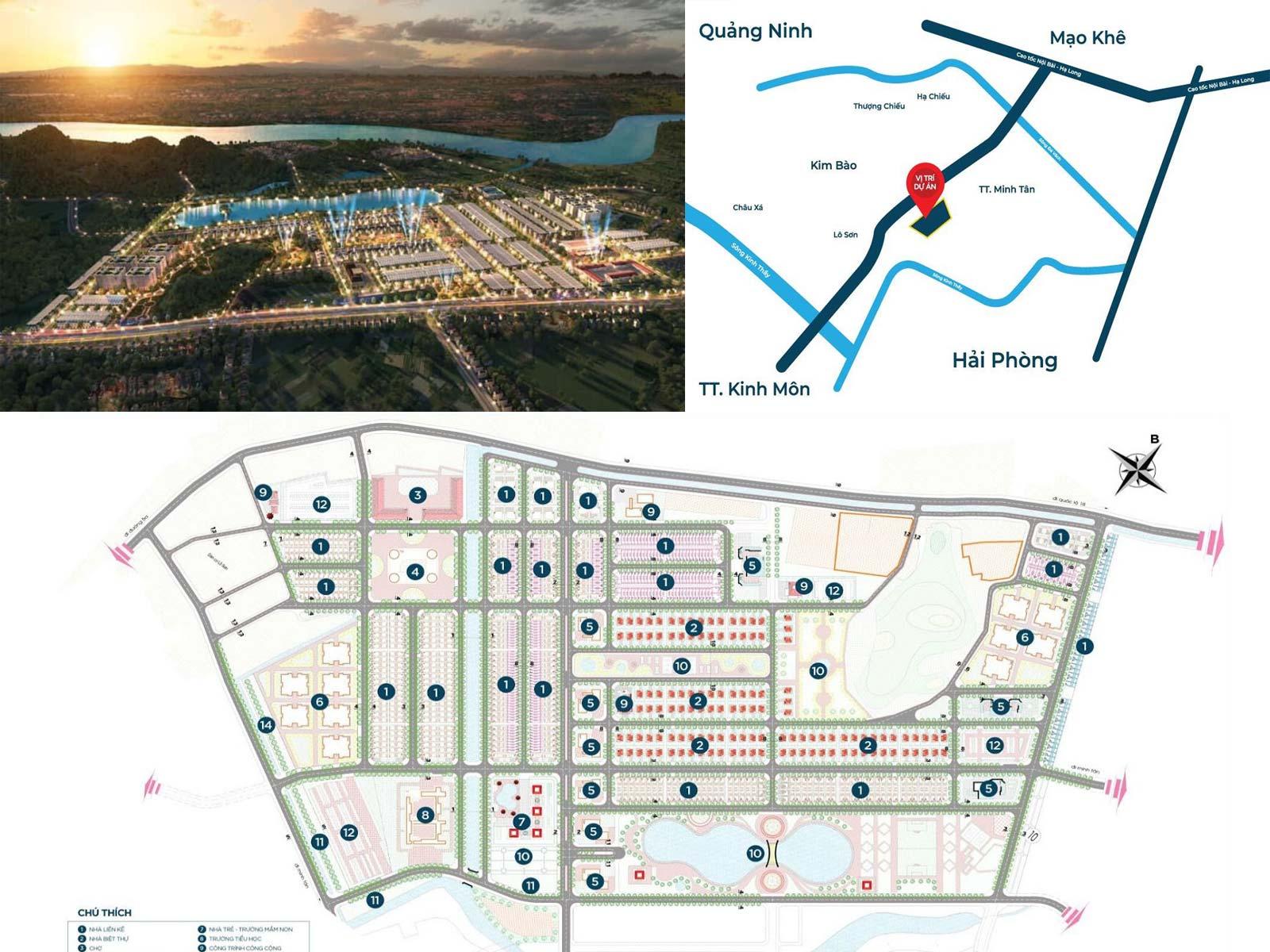 Dự án khu đô thị Phú Thứ Wonder Song Kinh Môn, Hải Dương