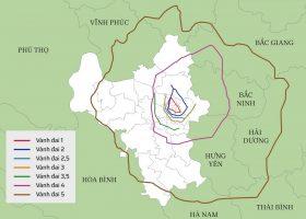 Hệ thống 7 đường vành đai của Hà Nội