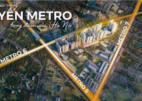 The Miami phân khu căn hộ thuộc The Metrolines Vinhomes Smart City