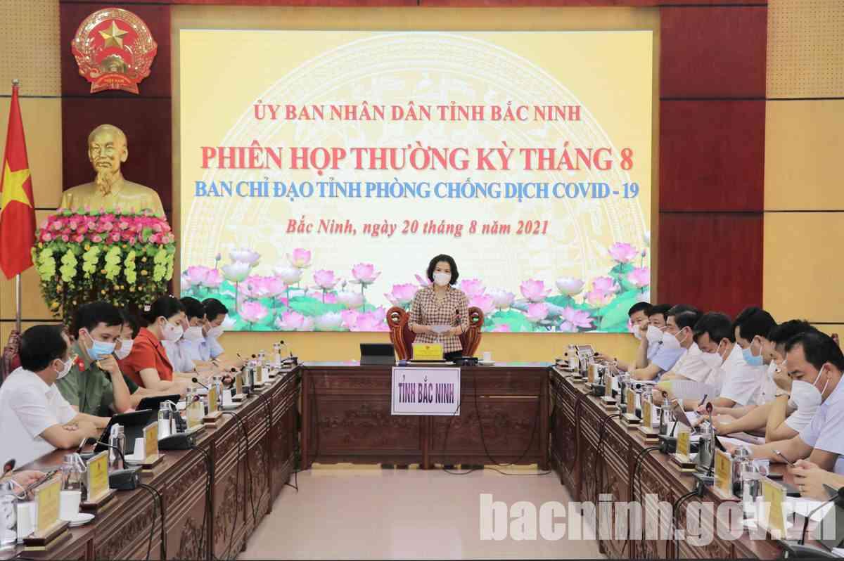 Báo cáo kinh tế Bắc Ninh 8 tháng đầu năm 2021