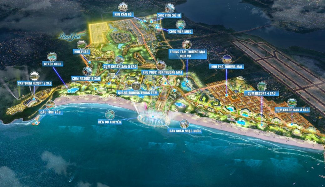 Khu đô thị phức hợp du lịch nghỉ dưỡng giải trí Kn Paradise Cam Ranh