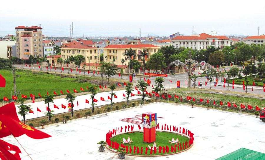 Lộ trình đầu tư xây dựng đô thị - Thị trấn Chờ